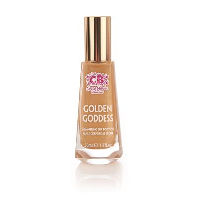Golden Goddess Dry Shimmer Oil - Cocoa Brown