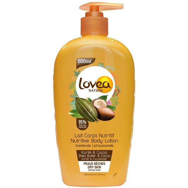 Nutritive Body Lotion - Shea & Cacao - Very Dry - Lovea