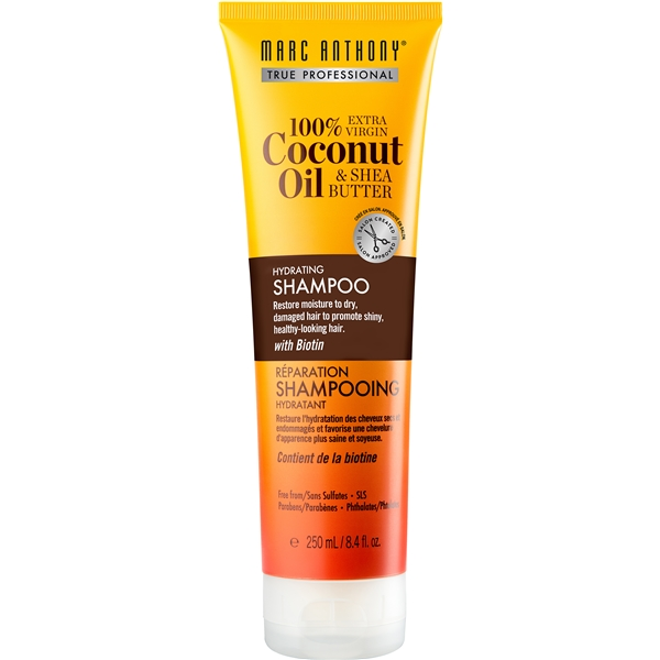 Hydrating Coconut Oil & Shea Butter Shampoo - Marc Anthony