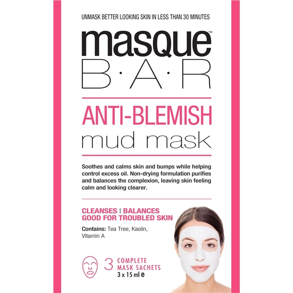 Anti-Blemish Mud Mask - Masque Bar