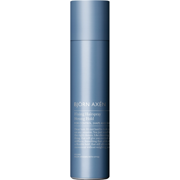 Fixing Hairspray Strong - Björn Axén