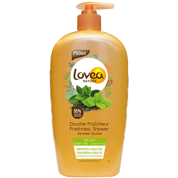 Lovea Nature Green Tea Shower Gel - Lovea