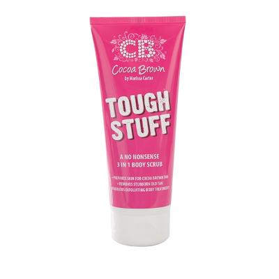 Cocoa Brown Tough Stuff - 3 In 1 Body Scrub - Cocoa Brown