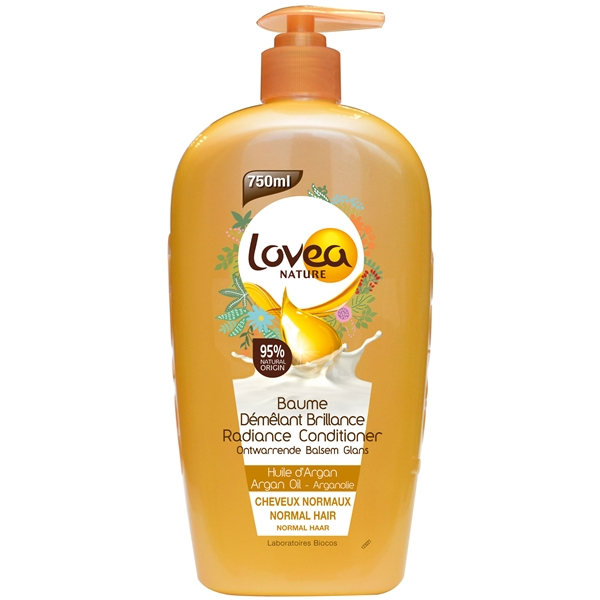 Radiance Conditioner Argan Oil - Normal Hair - Lovea