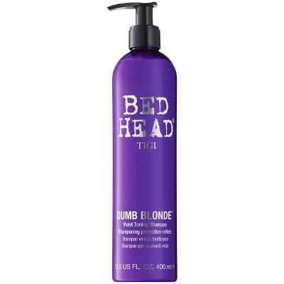 Bed Head Dumb Blonde - Purple Toning Shampoo - TIGI