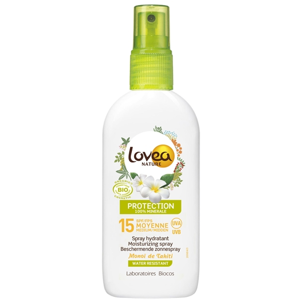 BIO Sun Medium Protection Spray Spf 15 - Lovea