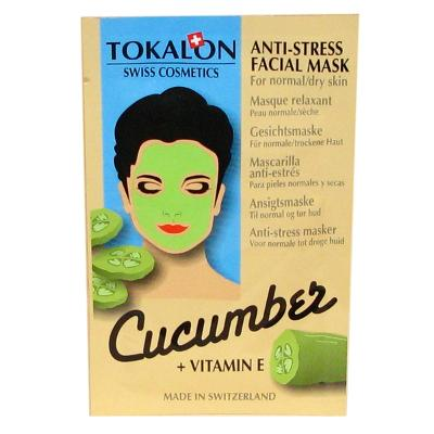 Tokalon - Cucumber Facial Mask - Tokalon