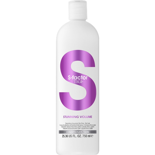 S Factor Stunning Volume Conditioner - TIGI