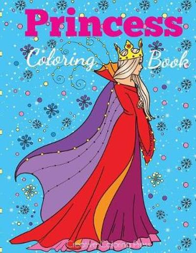 Princess Coloring Book - Dp Kids