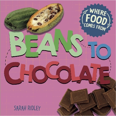 Where Food Comes From: Beans to Chocolate - Sarah Ridley