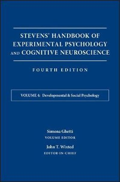 Stevens' Handbook of Experimental Psychology and Cognitive Neuroscience - John Timothy Wixted