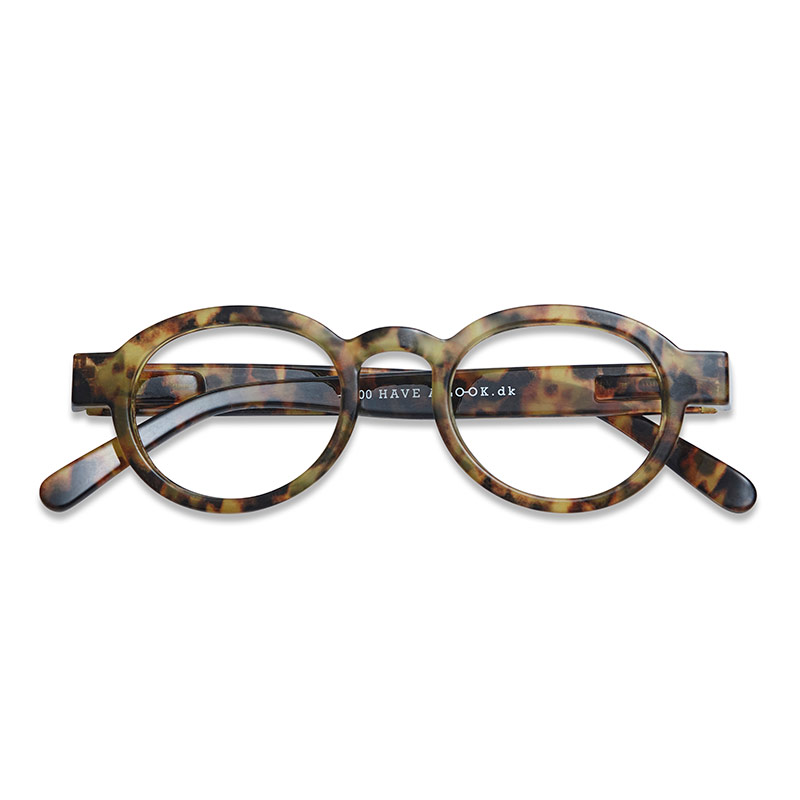 Lesebrille Circle twist turtle light+2 - Have A Look