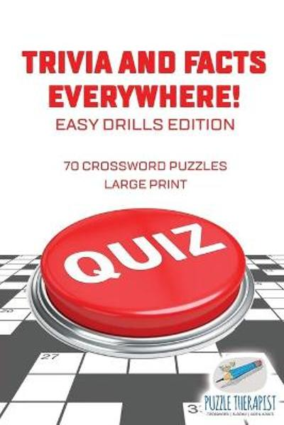 70 Crossword Puzzles Large Print Easy Drills Edition