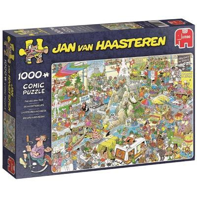 Puslespill 1000 biter - The Holiday Fair - Jan Van Haasteren