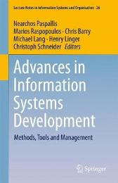 Advances in Information Systems Development - Nearchos Paspallis Marios Raspopoulos Chris Barry Michael Lang Henry Linger Christoph Schneider