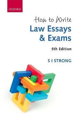 s i strong how to write law essays How to write law essays and exams has 7 ratings and 0 reviews this practical  guide includes cases and worked examples, enabling students at all levels t.
