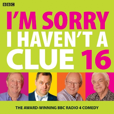 I'm Sorry I Haven't A Clue 16 - BBC