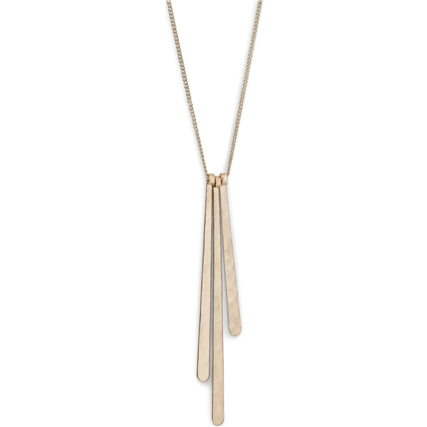 Linea Triple Necklace - Pilgrim