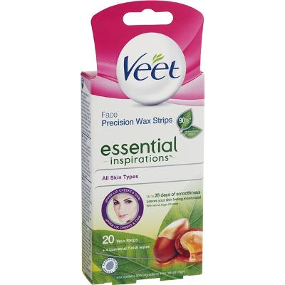 Veet Face Wax Strips Essential Inspirations - Veet