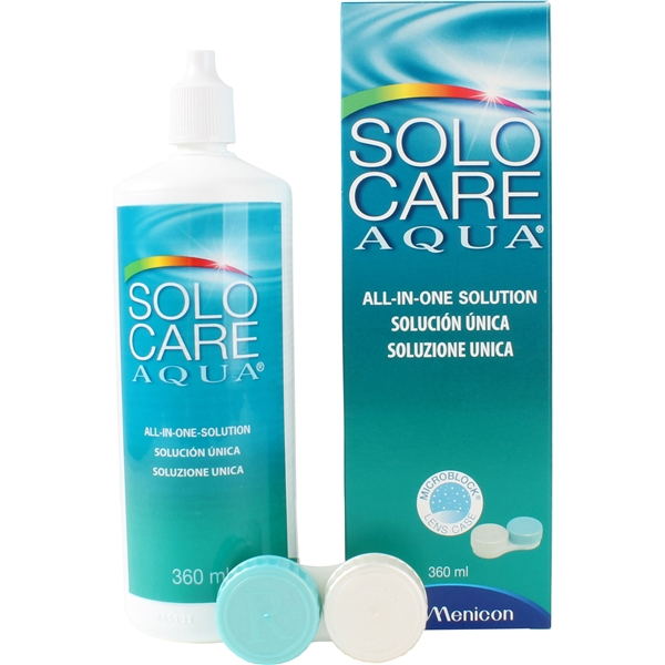 SoloCare Aqua 360ml - Menicon