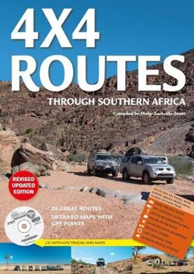 4x4 routes through Southern Africa - Map Studio