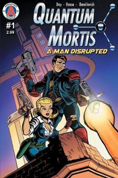 Quantum Mortis a Man Disrupted #1 - Vox Day