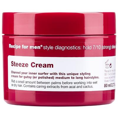 Recipe For Men Steeze Cream - Recipe for Men