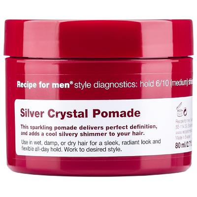 Recipe For Men Silver Crystal Pomade - Recipe for Men