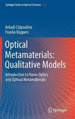 Optical Metamaterials: Qualitative Models - Arkadi Chipouline