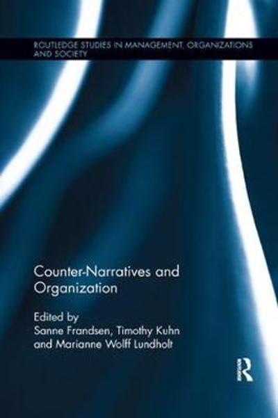 Counter-Narratives and Organization - Sanne Frandsen