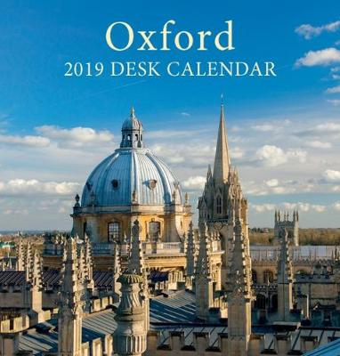 Oxford Colleges Mini Desktop Calendar - 2019 - Chris Andrews