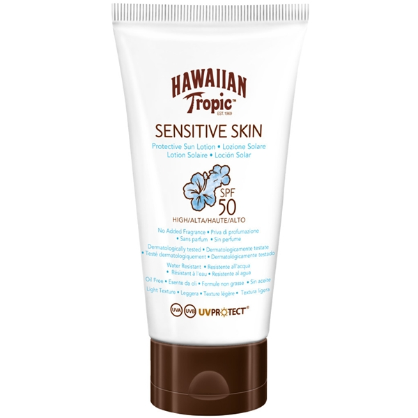 Sensitive Skin Protective Lotion SPF 50 - Hawaiian Tropic