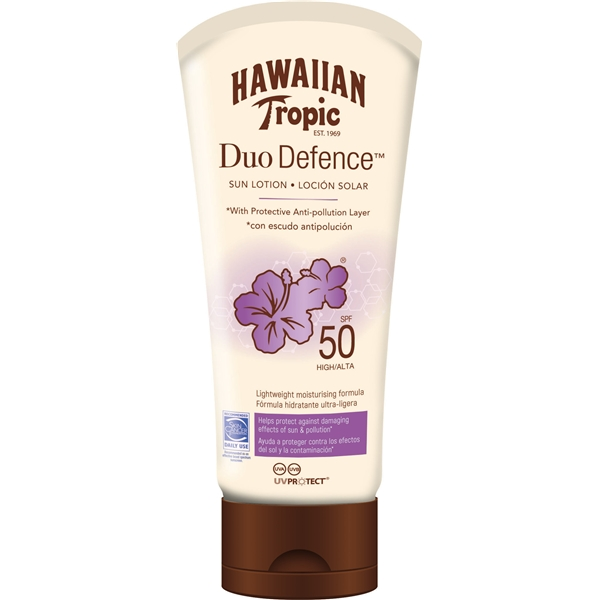 Duo Defence Sun Lotion SPF 50 - Hawaiian Tropic