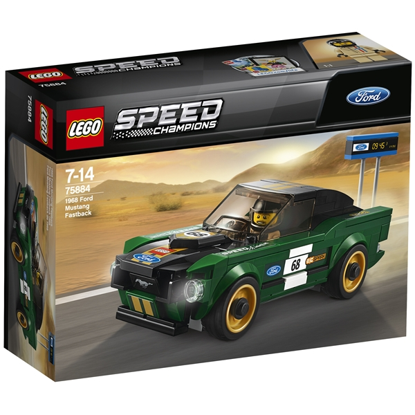 75884 LEGO Speed 1968 Ford Mustang Fastback - LEGO