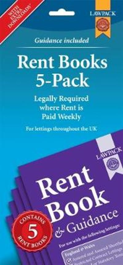 Rent Books 5-Pack - Anthony Gold Solicitors