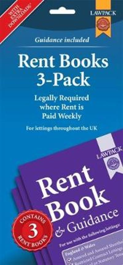 Rent Books 3-Pack - Anthony Gold Solicitors