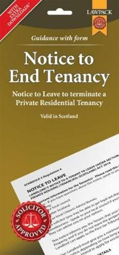 Notice to End Tenancy in Scotland - T C Young Solicitors