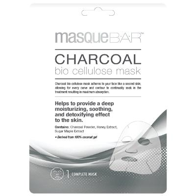Charcoal Bio Cellulose Mask - Masque Bar