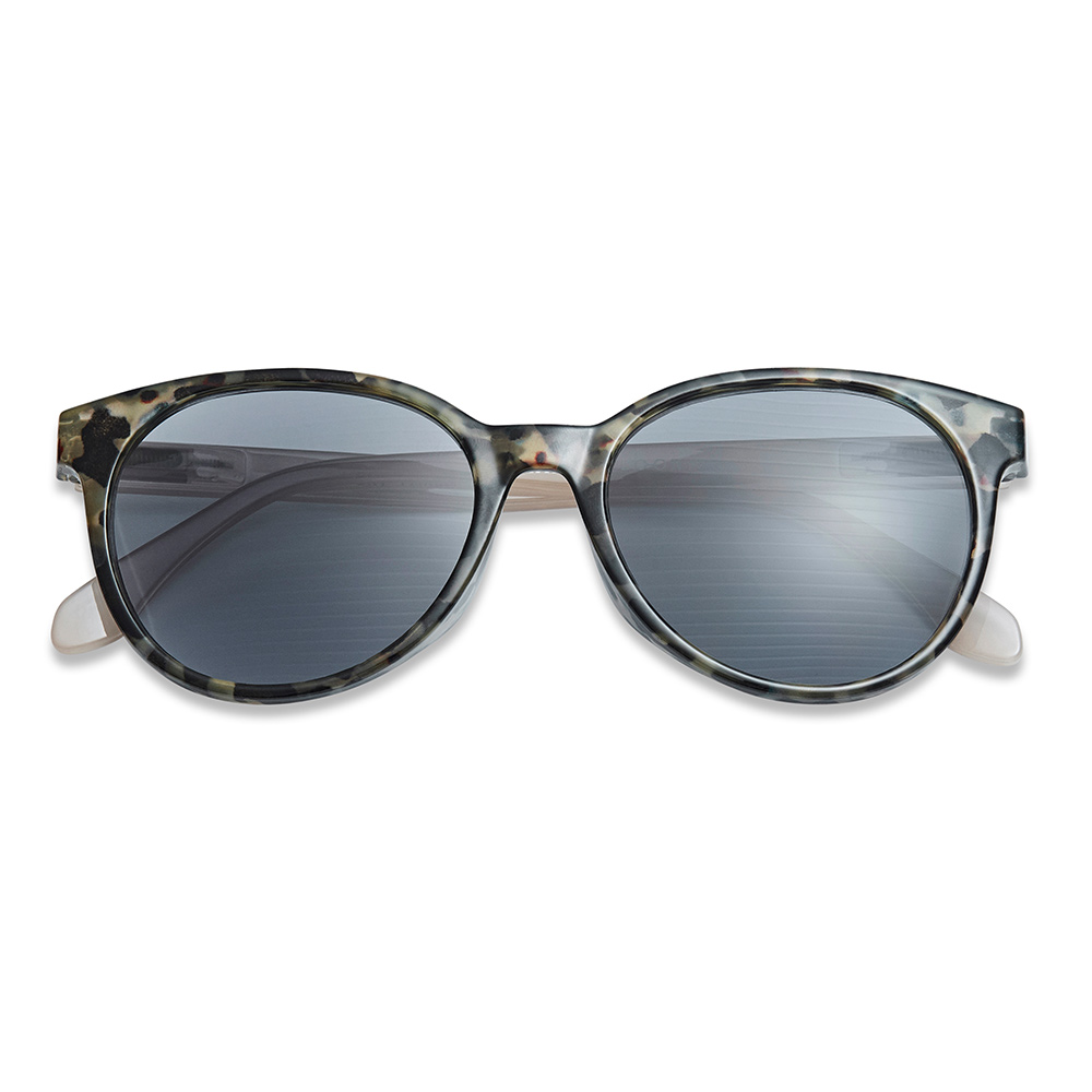 Solbrille City Marble/Sand med styrke +3 - Have A Look