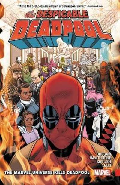 Despicable Deadpool Vol. 3: The Marvel Universe Kills Deadpool - Gerry Duggan