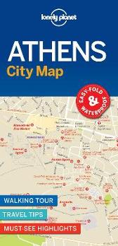 Lonely Planet Athens City Map - Lonely Planet Lonely Planet
