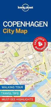 Lonely Planet Copenhagen City Map - Lonely Planet Lonely Planet