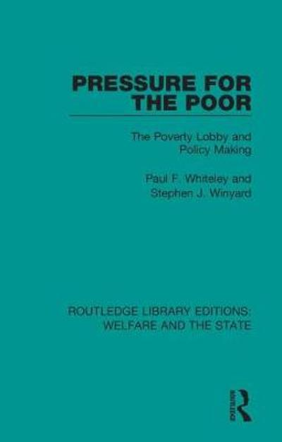 Pressure for the Poor - Paul F. Whiteley