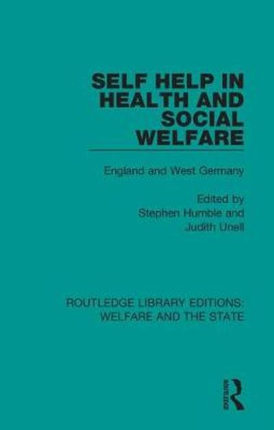 Self Help in Health and Social Welfare - Stephen Humble