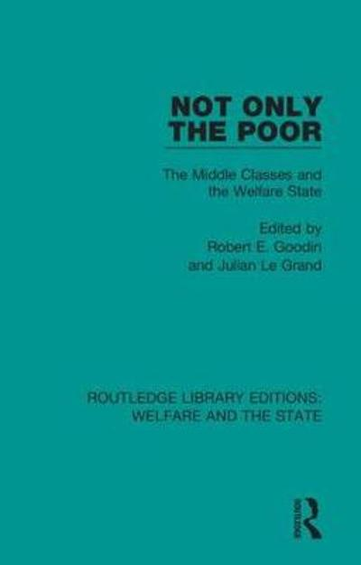 Not Only the Poor - Robert E Goodin