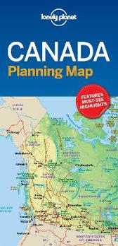 Lonely Planet Canada Planning Map - Lonely Planet Lonely Planet