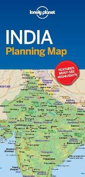 Lonely Planet India Planning Map - Lonely Planet Lonely Planet