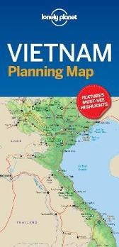 Lonely Planet Vietnam Planning Map - Lonely Planet Lonely Planet