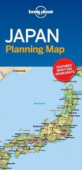 Lonely Planet Japan Planning Map - Lonely Planet Lonely Planet