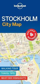 Lonely Planet Stockholm City Map - Lonely Planet Lonely Planet